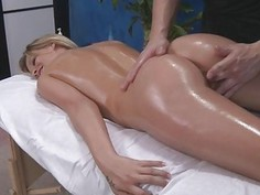 Beauty needs a tough male jock to tame her cunt