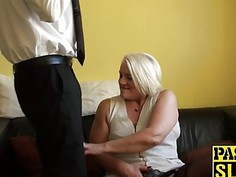 Naughty granny Carol is hungry for some really dirty fucking