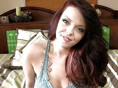 Darling is arousing stud with her oralstimulation