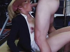 Latina mom natural tits Hot Milf Banged At The PawnSHop
