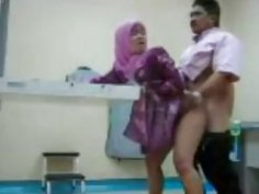 Malaysian wife bends over for her horny husband doggy style