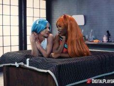 Evangelion Cosplay: A DP XXX Parody