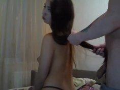 Teen Silky Hairjob and Hair Brushing, Long Hair, Hair