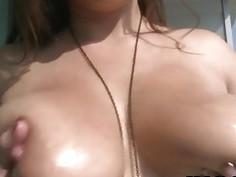 Horny Big Tits Slut Jasmin Suck Dick