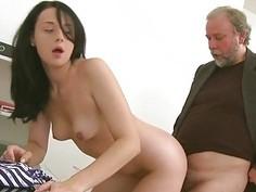 Lustful mature teacher fucks sweetheart senseless