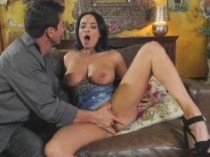 French MILF Anissa Kate gets pussy licked by Tommy Gunn