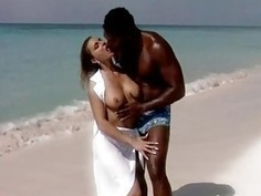 romantic fuck on the beache