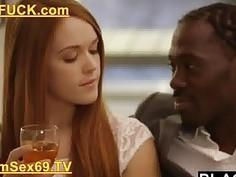 Blacked Redhead Kimberly Brix First Big Black Cock Porn