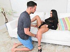 Ada Sanchez having oral sex