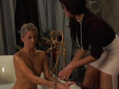 DOA 2: Handcuffed Blonde Slave Is Ready For Whip