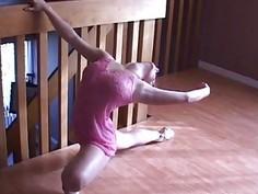 french ballerina loves flexi sex