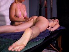 3 Babes, 2 Hot Lesbian Massages