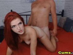 Hot Redhead Babe Loves Hot Deep Sex
