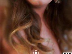 Step daughter Charlotte Cross banged in bathroom