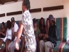 African sluts giving head and banging on couch